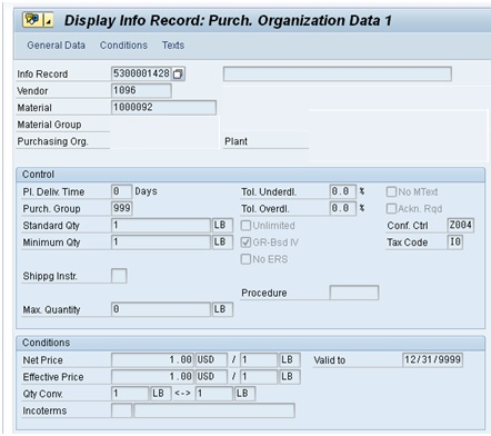 PIR Usage in Costing Variants - ERPCorp SAP FICO Blog