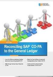 Reconciling SAP COPA to the General Ledger Paul Ovigele