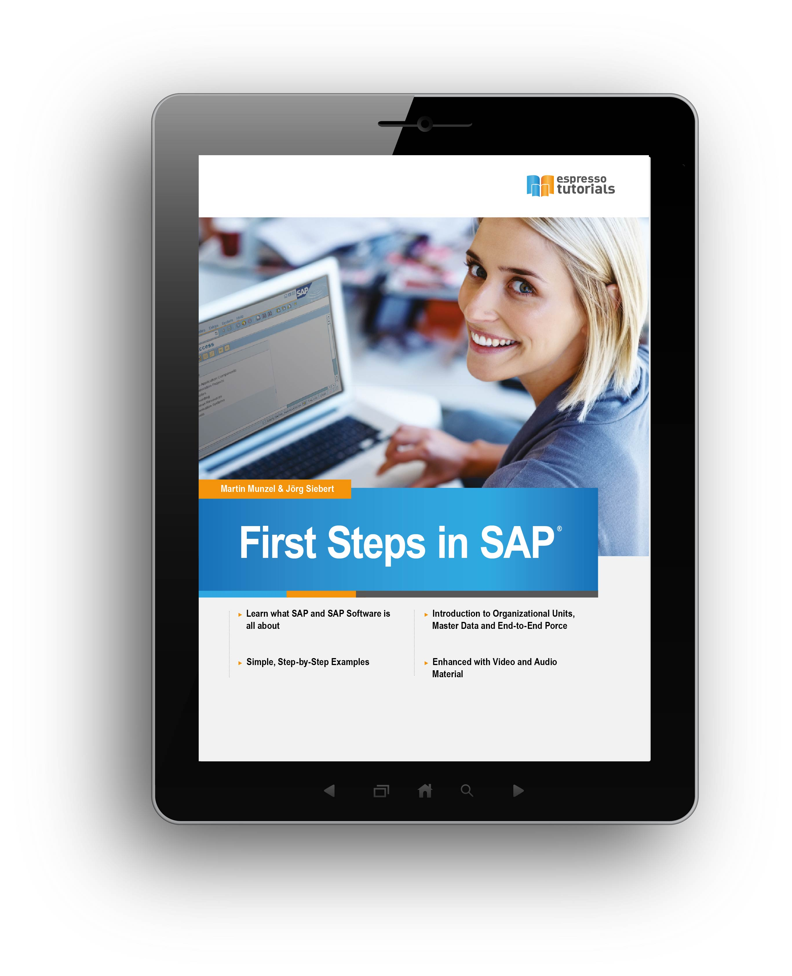 Tablet First Steps SAP - updated